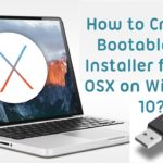 How to make Mac OS X bootable USB in Windows