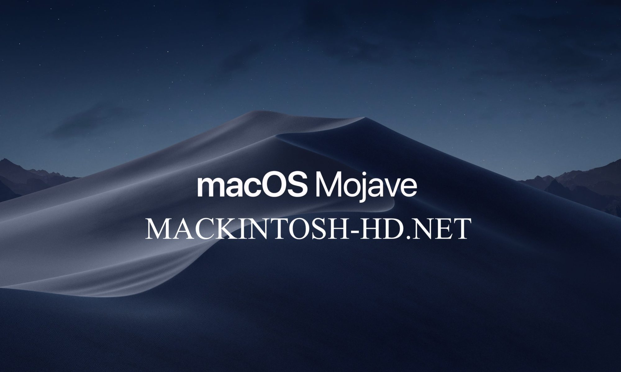 How to install macOS Mojave on OLD MACs Machines | MACKINTOSH-HD