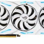 There are images of the Asus ROG Strix RTX 2080 Ti White Edition graphics card. This card costs 1600 euros