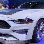 Ford Mustang Lithium electric car equipped with a manual gearbox