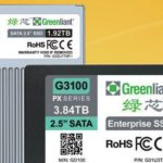 Up to 1.92 TB Greenliant G3200 drives use SLC NAND flash memory