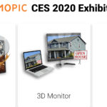 Mopic will present at CES 2020 a 3D 4K monitor and a film that turns the tablet screen into a 3D screen