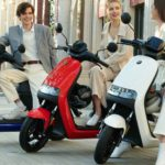 The smart NineBot electric scooter has a range of 200 km and can accelerate to 100 km / h