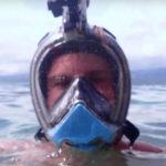 Introduced underwater mask with walkie-talkie
