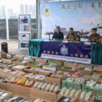 Hong Kong police and customs seize over $ 1 million batch of Apple smuggled goods