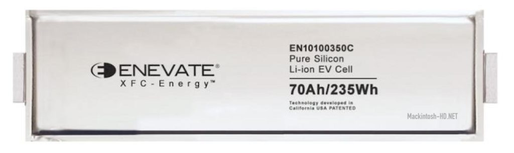 Enevate XFC-Energy Technology Enhances Battery Density and Charging Speed