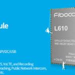 Fibocom L610 IoT module supports LTE Cat.1 and 10 Mbps