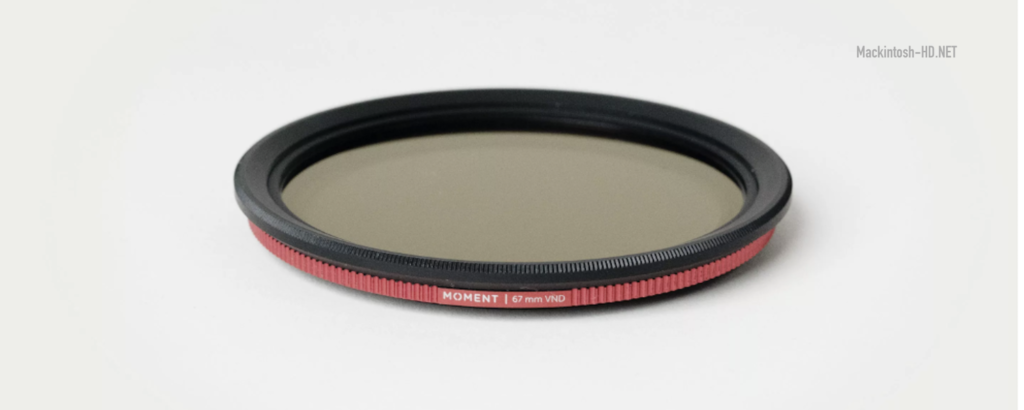 Moment mount allows you to use filters with a diameter of 67 mm with any smartphone