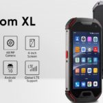 Compact rugged smartphone with a good camera, large battery and walkie-talkie.