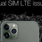 Apple iPhone 11 Pro Max spontaneously disconnects from LTE in dual-SIM mode