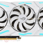 Asus' White Walker for Nvidia fans. The company released a graphics card ROG Strix GeForce RTX 2080 Super White Edition