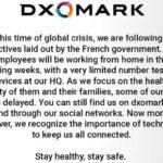 DxOMark Portal Suspended Smartphone Reviews