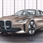 The concept of the electric car BMW i4