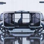 Jaguar showed the concept of an autonomous city car of the future