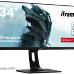 Iiyama Red Eagle Game Monitor GB3461WQSU supports 144 Hz refresh rate