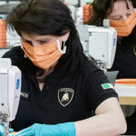 Lamborghini launched medical masks and face shields