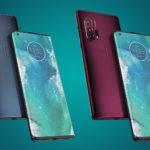 New Motorola got a screen-waterfall
