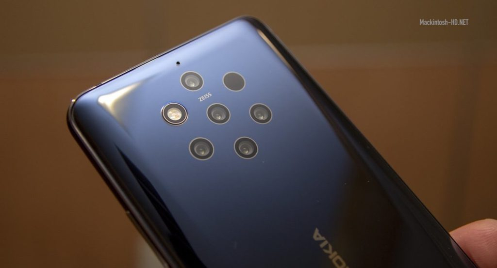 Nokia's new flagship will take the number of cameras and megapixels