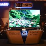 Sharp introduced the new 8K-TVs