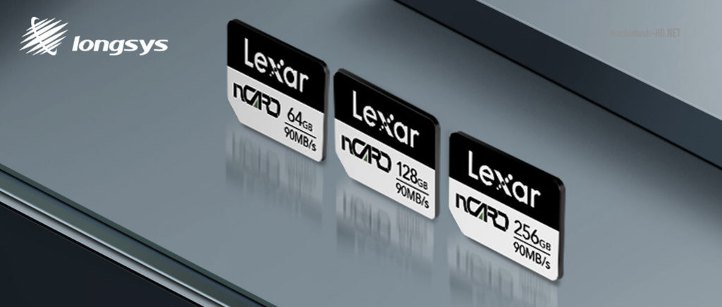 Lexar memory cards will use YMTC 128-layer flash memory