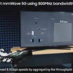 Samsung has shown the capabilities of 5G mmWave technology in terms of data transfer speed