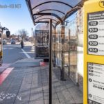 E Ink screens installed at stops in Boston