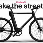 Battery in the frame, a belt instead of a chain and puncture-resistant tires. Cowboy 3 electric bike has something to surprise