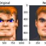 "Neural network taught to restore the ""pixel"" photos"