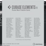 Steinberg – Cubase Elements 11.0.0 x64 (macOS)